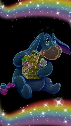 Eeyore Pictures, Winnie The Pooh Pictures, Cute Pictures, Winne The Pooh, Winnie The Pooh Friends, Disney Winnie The Pooh, Cartoon Movie Characters, Disney Cartoon Characters, Wallpaper Iphone Disney