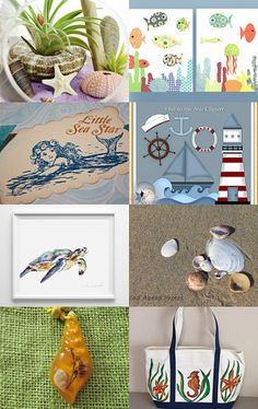 BY THE SEA - CIC Treasury Challenge (13) by Debbie Schuessler on Etsy--Pinned with TreasuryPin.com