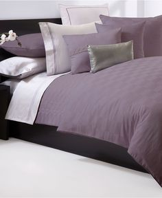 Hugo Boss Bedding, Windsor Plum Collection - Bedding Collections - Bed & Bath - Macy's