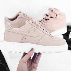 #nike #shoes #pink #taupe