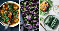 Vegan clean eating recipes for weight loss as the perfect Winter diet dinners. They're easy, healthy, low-carb, plant-based, dairy-free and full of veggies. Perfect for losing weight and burn unwanted fat.