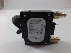 LMLK11RLS42987717 - AIRPAX - 40 AMP CKT BREAKER BULLET BLACK HANDLE 1 PIN W/ STRAP