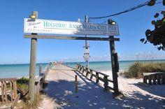 Anna Maria Island – Florida's Gulf Coast paradise Anna Maria Island, I Love The Beach, Anna Marias, Florida Usa, Best Vacations, Vacation Trips, White Sand Beach, Sunrise, Coast