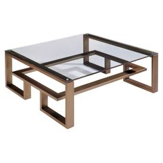 24 Modern Glass And Steel Coffee Table Design Ideas - Steel Coffee Table, Large Coffee Tables, Diy Coffee Table, Coffee Table Design, Diy Table, Modern Coffee Table Sets, Steel Table, Old Wood Table, Pub Table Sets