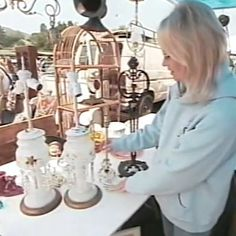Learn how to select and restore Vintage Lamps in Rachel's latest YouTube video.  #shabbychic #rachelashwell #vintage #youtube