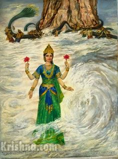 Story picture from Srimad Bhagavatam