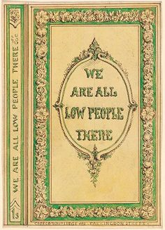 Alfred Crowquill | Cover Design for We are All Low People There | Drawings Online | The Morgan Library & Museum
