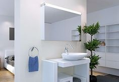 Leader LED Kosmetik Box, Led, Aluminium, Bathroom Lighting, Mirror, Furniture, Home Decor, Bathroom Mirror Cabinet, Spot Lights