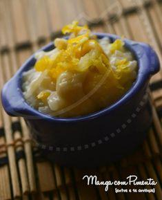 Risoto de Limão Siciliano, clique na imagem para ver a receita deste arroz maravilhoso no Manga com Pimenta.