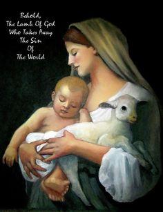 The Lamb Of God Pastel  - The Lamb Of God Fine Art Print