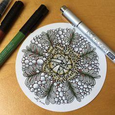 #Zentangle #tangle #doodle #artwork #doodleart #drawing #design #colorful #illustration #creative #pattern #painting #flora #colorpen #potpourriofartists #post #featuregalaxy #featureuniverse