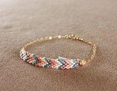 zigzag wristband
