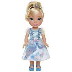 Disney Princess Explore Your World Cinderella Large Toddler Doll Disney Princess Toddler Dolls, Disney Princess Ages, Disney Dolls, Princess Toys, Rapunzel, Reborn Dolls Silicone, Sandro, Cinderella Doll, Disney Animator Doll