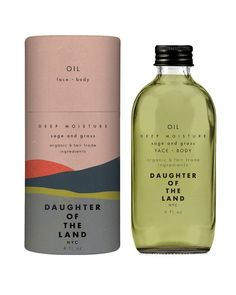 'daughter of the land' \\\The perfect antidote for a cold day or when your skin is feeling super dry. Sage + Grass is a invigorating moisture rescue pairing base oils of fair trade organic avocado and coconut oil with organic