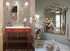 Se você gosta de ambientes modernos e cheios de estilo com certeza vai querer investir em um espelho veneziano. Esse tipo de espelho pode ser usado em todos os cômodos da sua casa, incluindo