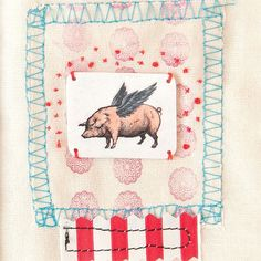When pigs fly... Watch your own creativity soar when you browse through Somerset Studio!