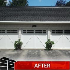 Even subtle changes can make a huge difference when it comes to the look of your garage door. Visit our showroom for a wide selection of doors from top manufacturers. Garage Door Maintenance, Contemporary Garage Doors, Garage Door Replacement, Garage Door Makeover, Old Garage, Extreme Makeover, Small Changes, Home Values, Curb Appeal