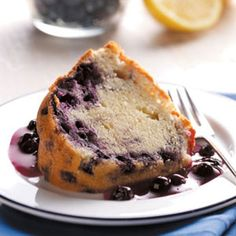 Blueberry Bounty Cake Recipe from Taste of Home