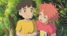 Tags: Anime, Gake no Ue no Ponyo, Studio Ghibli, Sousuke (Ponyo), Ponyo Studio Ghibli Art, Studio Ghibli Movies, Hayao Miyazaki, Totoro, Manga Anime, Ponyo Anime, Howls Moving Castle, Animation, Am Meer