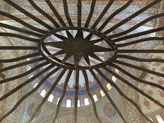 Viewpoints in Blue Mosque