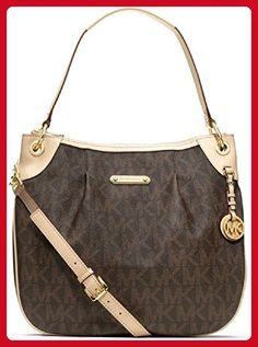 67def6bd89cac3 MICHAEL Michael Kors Jet Set Item Large Signature Shoulder Bag - Shop All Michael  Kors Handbags & Accessories - Handbags & Accessories - Mac.