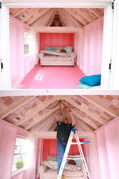 Add Furniture and Accessories to your She Shed