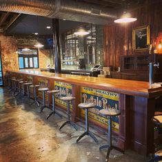 Finished Bar Gallery - Hardwoods Incorporated Home Bar Plans, Basement Bar Plans, Basement Bar Designs, Basement House, Home Bar Rooms, Diy Home Bar, Bars For Home, Wooden Home Bar, Wooden Bar Top