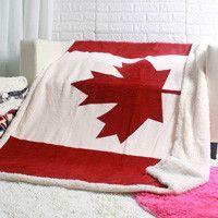 double layer thick USA US UK ENGLAND BRITISH flag fleece sherpa plush faux fur tv sofa gift blanket throw blankets 130x160cm