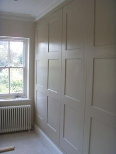 Fitted wardrobes Kingston (murphy bed behind that) Anyone can create a house sweet property, even when the spending budget is tight. Bedroom Wardrobe, Wardrobe Doors, Built In Wardrobe, Closet Doors, Alcove Cabinets, Bedroom Cupboards, Bedroom Storage, Bedroom Decor, Zeina