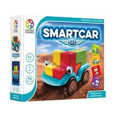 Smart Car oyunu 4 yaş ve 7 yaş üzeri 2 farklı versiyonu bulunan, görsel algı ve düşünme becerilerini geliştiren bireysel bir oyundur. https://egitimdizayn.com/smartcar-5x5