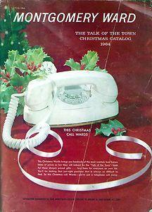 -Montgomery Wards 1964 Christmas Catalog