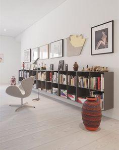 Montana Furniture, Casa Retro, Low Bookcase, Bookcases, Living Spaces, Living Room, Living Area, Piece A Vivre, Interior Decorating