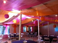 Photo of Pema Osel Ling - Watsonville, CA, United States. Celebration Hall decorated for Rehearsal Dinner