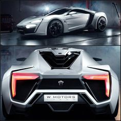 Lykan Hypersport Debuts in Qatar. Limited to seven cars worldwide each priced at over 3 million dollars...RIDICULOUS!!!