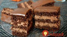 Nemrég lett kész, imádom :) Csak hagyni kéne a családnak is… :D Hungarian Desserts, Hungarian Recipes, Sweet Cookies, Cake Cookies, Cupcakes, Torte Cake, Cake Bars, Diabetic Bread, Cake Recipes