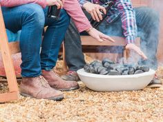 No room for a fire pit? HGTV.com shows how to make an easy concrete fire bowl that fits in a backyard of any size.