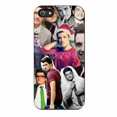 Josh Hutcherson Collage Photo iPhone 5/5s Case