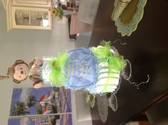 Thank Heaven for Little Boys Diaper Cake 1 package (50) Target size 1 diapers, 2 pacifiers, 1 bib,  ribbon,  & stuffed animal .