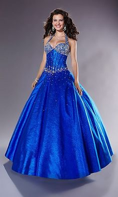 Shop Tiffany prom dresses and designer ball gowns at PromGirl. Long prom dresses, formal evening, pageant gowns, and special occasion dresses. Royal Blue Prom Dresses, Blue Ball Gowns, Blue Wedding Dresses, Ball Gown Dresses, Wedding Blue, Blue Gown, Dress Wedding, Vestidos Color Azul Rey, Vestidos Azul Royal
