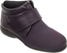 These warm and comfy, softly-padded boots are ideal for swollen or problem feet. The front part of the boot is made from soft, stretchy Elastane for your toes. Clogs, Footwear, Comfy, Stuff To Buy, Fashion, Clog Sandals, Moda, Shoe, Fashion Styles