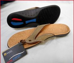 BRAND NEW  Mens Spenco Straw Java and Cork Yumi Sandals FREE S&H US 11M #Spenco #FlipFlops