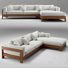 Wood Sofa, Couch Furniture, Pallet Furniture, Living Room Furniture, Furniture Design, Furniture Ideas, Furniture Logo, Furniture Makeover, Apartment Furniture