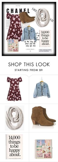 """""""Sem título #223"""" by bear-pretty ❤ liked on Polyvore featuring New Look, Chico's and Étoile Isabel Marant"""