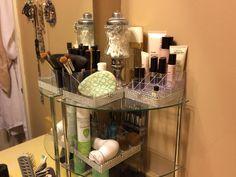 Bling vanity trays