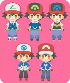 Ash Ketchum ^.^<<<<the evolution of the ketchup