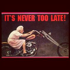 Age is just a number!