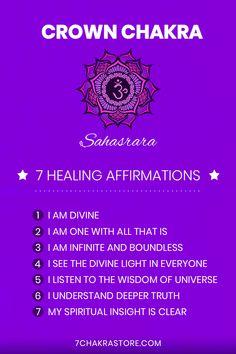 Healing Meditation, Chakra Healing, Meditation Music, Mindfulness Meditation, Healing Affirmations, Positive Self Affirmations, Chakras, Chakra Mantra, Chakra Alignment
