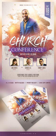 #Church #Flyer - #Events Flyers