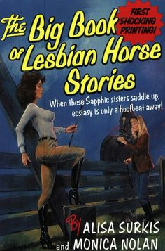 The Big Book Of Lesbian Horse Stories Covers Comic Paperback Books