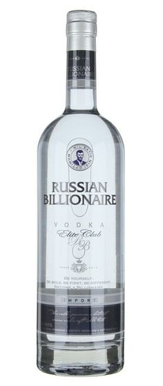 Russian Billionaire Elite Club Vodka